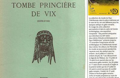 La tombe princière de Vix : l'âme celte !