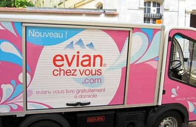 Paris XV en test marketing pour « Evian chez vous »