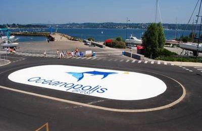 Rond-point à Brest
