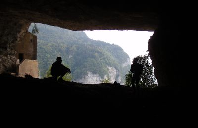 Croix du Nivolet (par la Via de la Grotte à Carret)