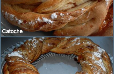 UNE BRIOCHE NOMMEE KRINGLE