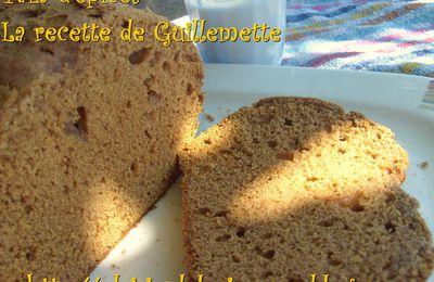 La recette de pain d'Epices de Guillemette