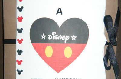Mini-album sur Disney