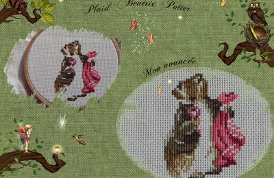 Plaid Beatrix Potter