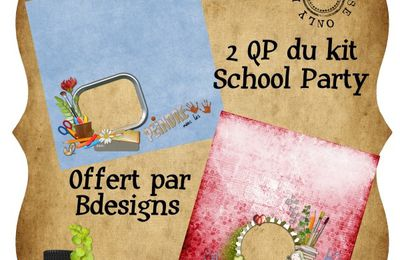 2 QP du kit School party by Bdesigns