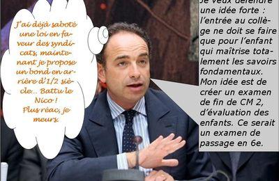 Remaniement dernière Copé pressenti comme ministre de l'éducation et de la régression nationales !