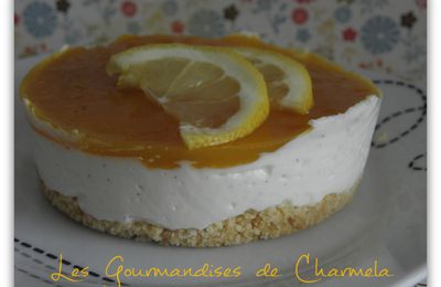 CHEESECAKE VANILLE ET FRUITS DE LA PASSION