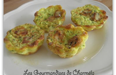 CLAFOUTIS COURGETTE FOURME D AMBERT