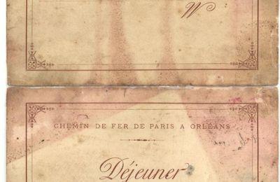 Inauguration ligne Hautefort-Sarlat octobre 1899