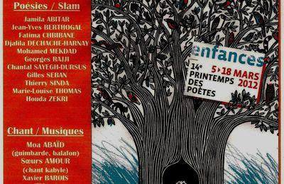 Le printemps des poètes à Vanves