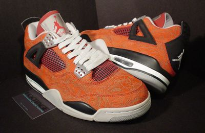 Air Jordan 4 Sample Red Laser