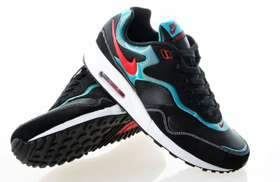 Nike Air Max Liquid Racer Black/Aqua/Red