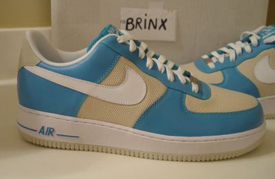Nike Air Force 1 – Marina Blue – White – Birch - Août 2010