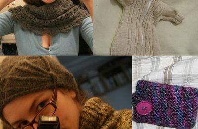 Mes tricots de janvier