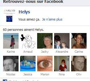 HELYS ouvre sa page Facebook