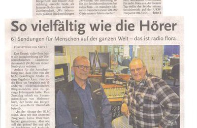 Hallo Linden 14.10.12 -- radioflora.de worldwide on air !