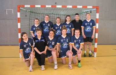 HANDBALL Acad cadettes à NANCY