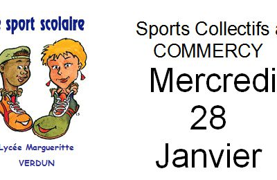 Finale Sport Co Juniors à COMMERCY