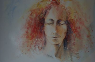 Portraits en aquarelle