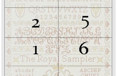 The Royal Sampler : objectif 6