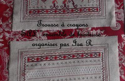 """SAL """" Ensemble de brodeuse """" Jour J"""