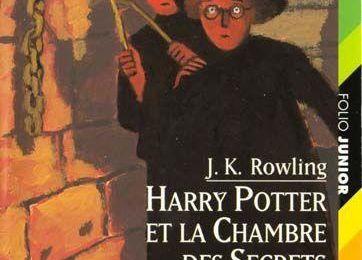 Harry Potter et la chambre des secrets - J.K Rowling