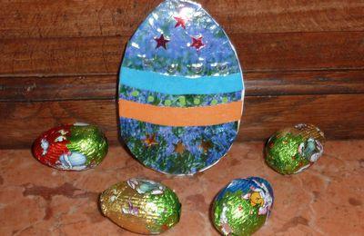 MailArt de Pâques par Véronique D