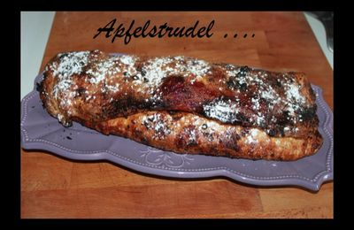 Apfelstrudel pour Save my Brain ....