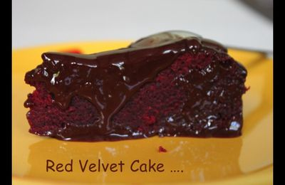 Red Velvet Cake pour Save My Brain .....