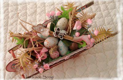 ... Brouette de Pâques ...