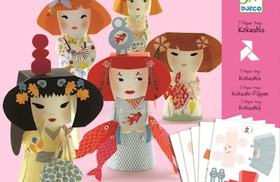 Inauguration - kit Kokeshi Djeco