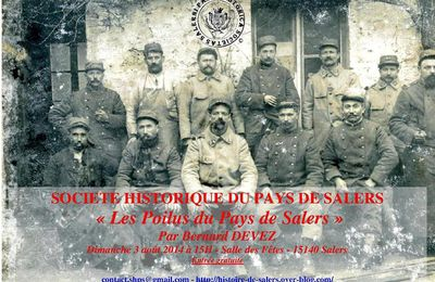 Conférence annuelle de la Société Historique du Pays de Salers