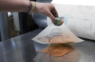 La taille-douce à l'honneur à l'Adresse Musée de La Poste de Paris