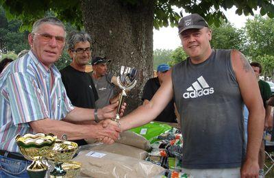 Nouvelle victoire Saintaise au concours de pêche au coup (Saint-Jean-d'Angély 27.06.2010)