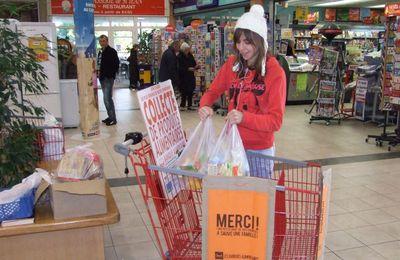 Les dons pour la Banque alimentaire peuvent se poursuivre au local de l'Arche (Saint-Jean-d'Angély 27.11.2010)