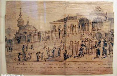 Les oeuvres du dessinateur Pierre Loti présentées à Istanbul
