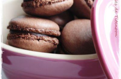 Macarons au chocolat (version #2)