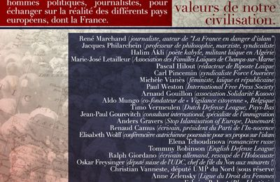 Assises internationales sur l'islamisation