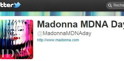 Madonna to be on Twitter again on April 4, 2012