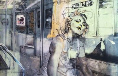 Madonna Art in the street