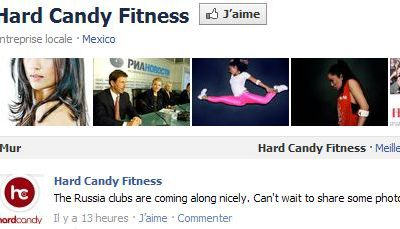 Madonna Hard Candy Fitness: Russian clubs are coming along nicely