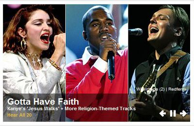 Songs About Faith: Madonna N°1 with ''Like A Prayer''