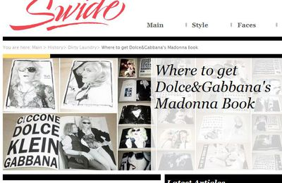 Dolce&Gabbana's Madonna Book is not a Dolce&Gabbana book
