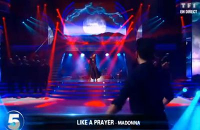 TV: Watch ''Danse avec les Stars'' on ''Like A Prayer'' (Madonna cover) - TF1