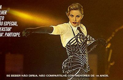 Madonna and Johnnie Walker project: ''Keep Walking, Brazil'' single with ''Superstar'' remixes