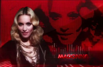Video: Madonna in NRJ TV commercial - October 2012