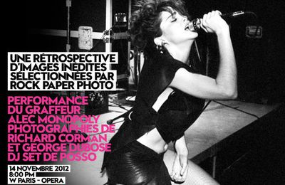 Madonna Rock Paper Photo Exhibition opens in Paris - November 14, 2012