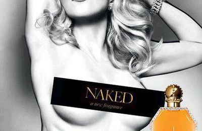 Madonna naked for ''Truth or Dare - NAKED by Madonna'' Fragrance Ad