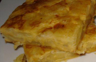 Tortilla de pommes de terre ...et oignons !