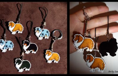 Shelties Charms arrivés !